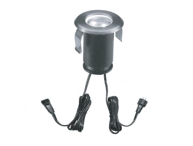 Led grondspot 12 volt rond 0 3 watt wit for Led lampen 0 3 watt