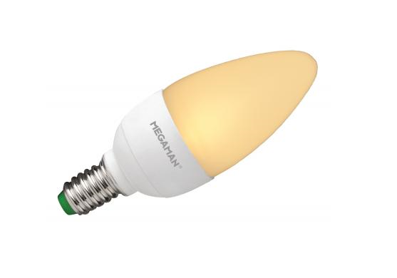 Led kaars lang 230 volt 3 5 watt vv 15 for Led lampen 0 5 watt