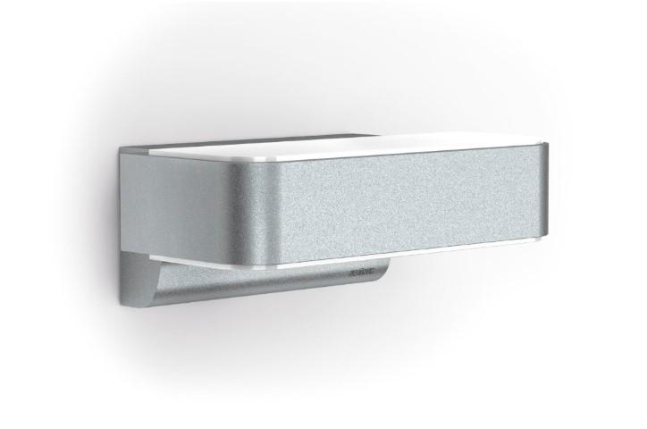 led gevellamp met sensor 230 volt 8 watt warm wit stei i. Black Bedroom Furniture Sets. Home Design Ideas