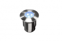 Garden Lights - Groundlight Alpha (Blue| 0,5W | 10lm | 12V | 45x42mm)