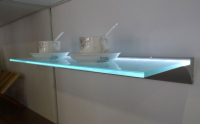 LED Profiel IIII | Glass | 45 x 13 mm | 2M | Glas / PVC 6mm