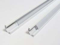 LED Profiel 016 | Hoek | 16,6 x 16,6 x 23,3mm | Opaal, PC, UV