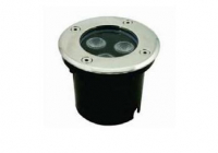 LED Grondspot | 12V | Rond | 3W | Warm Wit