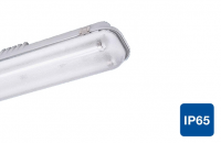 LED TL armature Daylight | 230V | 1 x 12W | VV 28W TL | IP65