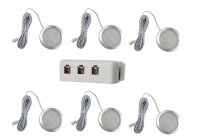 LED Kastverlichting set | 6 Lampjes | 6 x 3W | LWLS0847-6