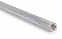 LED Profiel Corner 18,6mm | Helder, PC, UV Bestendig | 3M
